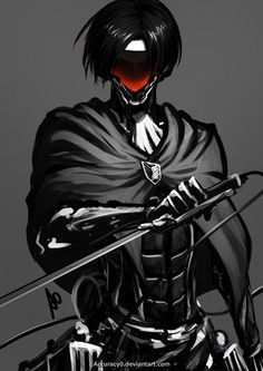 #wattpad #fanfiction Masks. They symbolize humanity, no one is seen without one and no one goes out barefaced. In fact, its illegal to do so. Your mask shows your rank in society. Of course, with this rule, you wouldn't recognize someone without their  mask on because you have never seen their face. Levi Ackerman, he i...