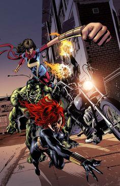 Marvel Unveils Champions Variants