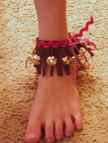Ten kids and a Dog: Homemade African Ankle Bells