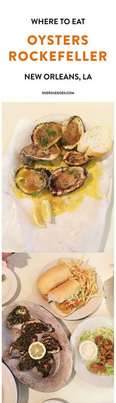 Where to Eat the best oysters rockefeller in New Orleans!
