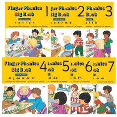 Finger Phonics Big Books 1-7 (In Print Letters)