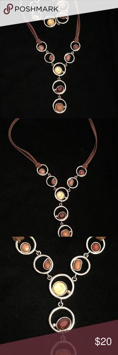 Necklace and bracelet set Lia Sophia necklace and bracelet set Lia Sophia Jewelry Necklaces