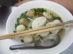 Bangkok, fish ball soup
