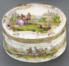 German, Meissen Porcelain, 1755