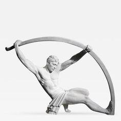 Demeter Chiparus Monumental Plaster Sculpture After Chiparus