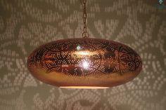 Egyptische Filigrain Hanglamp Sheherazade L- Ghalia - Ghalia