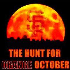 Can't wait for October baseball. San Francisco Giants Baseball, San Francisco 49ers, 2014 World Series, Baseball Season, Sports Figures, California Love, October, Orange, Bay Area