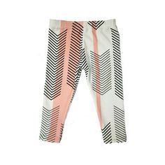 Sweet Kiddo - Pink stripe leggings