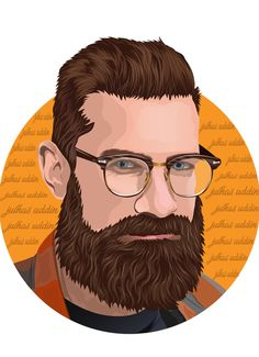 Fiverr freelancer will provide Portraits & Caricatures services and draw portrait illustration and realistic vector cartoon including Figures within 1 day