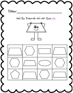 Trace And Count Hexagon Shapes