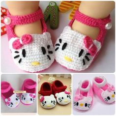 If you want to make baby shoes, crochet would be a good choice since the materials used for crochet make them feel cozy. These cute Hello Kitty crochet shoes would be nice handmade gifts for your baby or baby showers. Making baby gifts with your own hands is the sweetest …