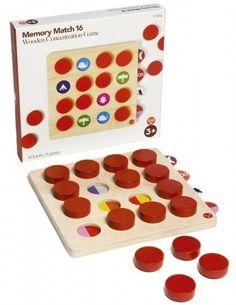 Houten memory spel