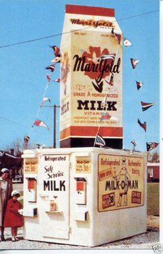 Marigold Milk Machaine Racine WI