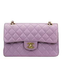 8c474731f337 Beautiful Chanel Flap bag in Light Purple. Browse our full collection now!  #baghunter