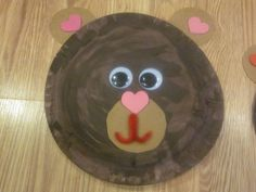 BFIAR - We're Going on a Bear Hunt  bear plate craft