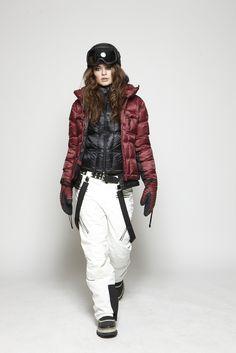 Skiwear fashion sos-sportswear downjacket, insulationjacket, jacket, thunderpant, suspenders, pertex, fall14 collection, www.sos-sportswear.com
