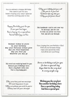 Easy Peely Verses For Cards
