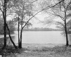 View of Walden, circa 1908.