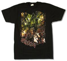 Korn Shattered Navy Blue T Shirt New Official Adult