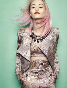 Vogue Brazil August 2012 via OracleFox