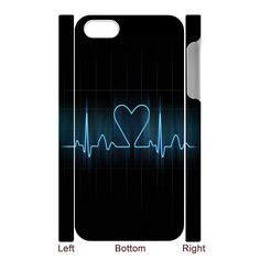 For the echo folks out there: Heart Electrocardiogram 3D-Printed iPhone 5 Case #cardiology