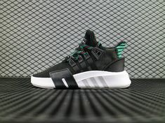 the latest 45916 83bf8 adidas EQT BASK ADV Black White Green CQ2993 Running Boost adidas For Sale  Big Boys Youth