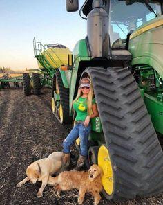 Tractor Babe with Doggos – Pixforus