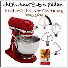 Life is a Sandcastle: Blogger Opp. KitchenAid Mixer + Accessories