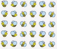 Bumble Bee Mini Stickers