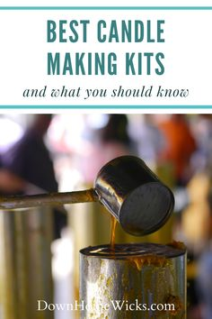 The best candle making kits have everything premeasured and ready to go. It should come with clear instructions. The kit is to get you started so that you can successfully make candles with a positive experience. The kit should cost around $50 and the ingredients should be labeled in a way that you know what you used. If you purchase a kit from a candle supply store you will have the support and will be able to ask questions. #DIYcandles #candlemaking #candles