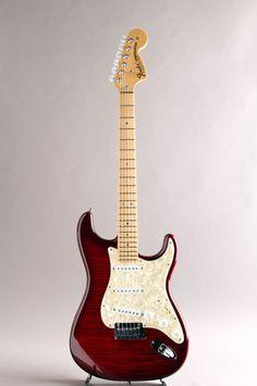 FENDER CUSTOM SHOP[フェンダーカスタムショップ] 「三木楽器大感謝セール出品予定品」MBS Custom Stratocaster N.O.S. Wine Red by Yuriy Shishkov 2010|詳細写真