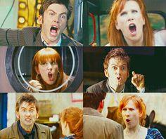 Tardis, Timelord, yeah! Donna, human, no!