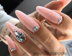 Red Acrylic Nails, Nude Nails, Stiletto Nails, Nail Manicure, Stylish Nails, Trendy Nails, Almond Nails, Gorgeous Nails, Nail Inspo