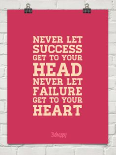 never let success get to your head never let failure get to your heart #monarcharchetype #archetypalbranding #archetypes