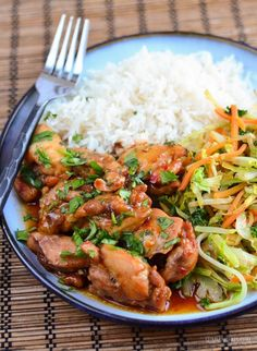 Slimming Eats Low Syn Thai Spiced Chicken - gluten free, dairy free, Slimming World and Weight Watchers friendly