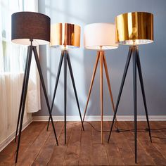 Adesso Director Tripod Floor Lamp   Floor lamps, Floors and Tripod