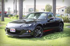 How about a brand new 2013 Mazda MX5 Miata Club Edition in Black?