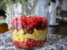 Easy Fruit Salsa! YUM!