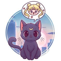 ✨ Luna and Usagi ✨ that is Serena's Japanese name,I prefer the English names but then again I grow