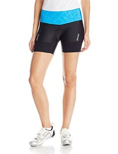 ZOOT SPORTS Womens Performance Tri 6Inch Short Large Malibu Static -- Find out more about the great product at the image link.(This is an Amazon affiliate link and I receive a commission for the sales)