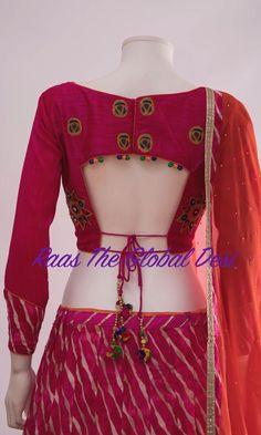 CHANIYACHOLI2018 New Saree Blouse Designs, Choli Blouse Design, Blouse Designs Catalogue, Choli Designs, Fancy Blouse Designs, Blouse Designs Wedding, Latest Blouse Designs, Lehenga Designs, Saris