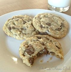 Chocolate Almond Joyful Cookies by FabulousFarmGirl. My new #1 favorite cookie!