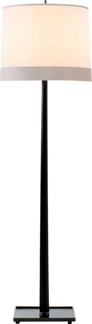 "OCTAGON FLOOR LAMP. Height: 66"", Width: 18"", Base: 12"" Square,  Shade: 17"" x 18"" x 14 1/4"", Wattage: 1 - 150 Watt Type A, Socket: Dimmer Switch"