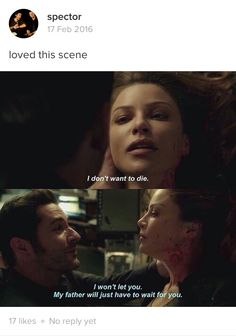 Lucifer Morningstar and Chloe Decker | Tom Ellis and Lauren German | LUCIFER - Season 2