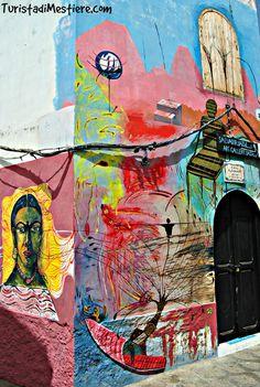 Street Art Asilah, the city of artists, Morocco http://www.turistadimestiere.com/2012/08/asilah-la-citta-degli-artisti.html