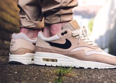 Nike wmns Air Max 1 Pinnacle - Mushroom/Black/Light Bone - 2017 (by maikelboeve)  Buy it: Overkill / End Clothing / Sneakersnstuff / Foot District / Allike / Afew / More shops