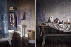 Winter With Marks & Spencer Home - Bathroom / Washroom home decorating interior design ideas from M&S Home - Martyn White Designs