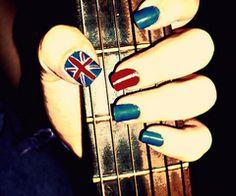 nail art rock - Buscar con Google