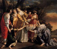 Finding of Moses. Orazio Gentileschi