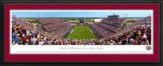 Texas A University Aggies Panoramic - Kyle Field Picture $199.95